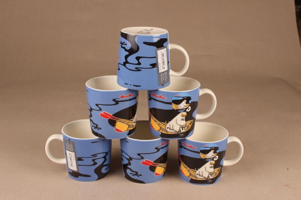 Arabia Moomin Special mug Our Coast 6 pcs designer Tove Slotte-Elevant