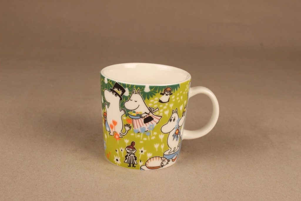 Arabia Special Moomin mug Tove´s Jubilee with glasses designer