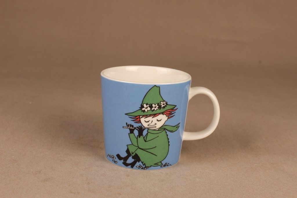 Arabia Moomin mug Snufkin designer Tove Jansson/Tove Slotte-Elevant