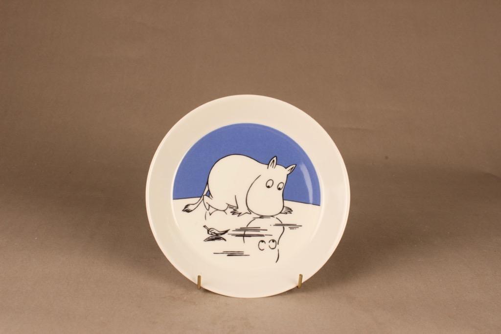 Arabia Moomin plate Moomintroll, two-sided designer  Tove Jansson/Tove Slotte-Elevant