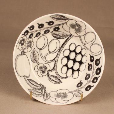 Arabia Paratiisi bowl, black-white designer Birger Kaipiainen 2