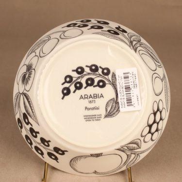 Arabia Paratiisi bowl, black-white designer Birger Kaipiainen 3