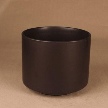 Arabia flower pot brown designer Richard Lindh