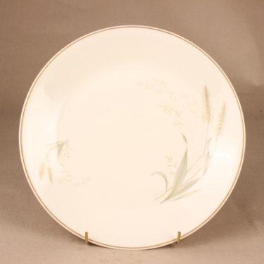 Arabia Tähkä dinner plate designer Raija Uosikkinen