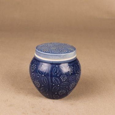 Arabia Jam jar blue designer Ulla Procope