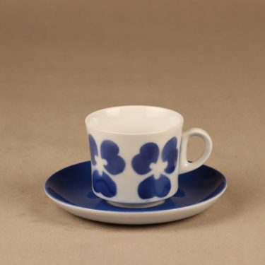 Arabia BR coffee cup, blow decorative