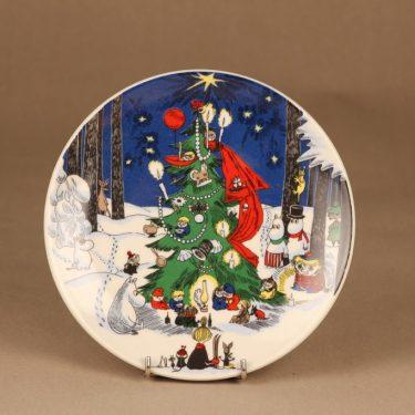 Arabia Moomin wall plate Christmas big designer Tove Slotte-Elevant
