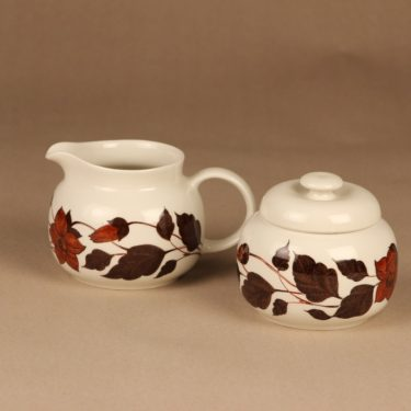 Arabia Tea for Two sugar bowl and creamer designer Gunvor Olin-Grönqvist