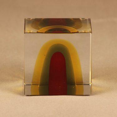 Nuutajärvi annual cube 2006 designer Oiva Toikka