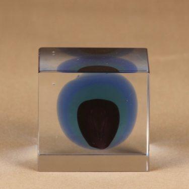 Nuutajärvi annual cube 1998 designer Oiva Toikka