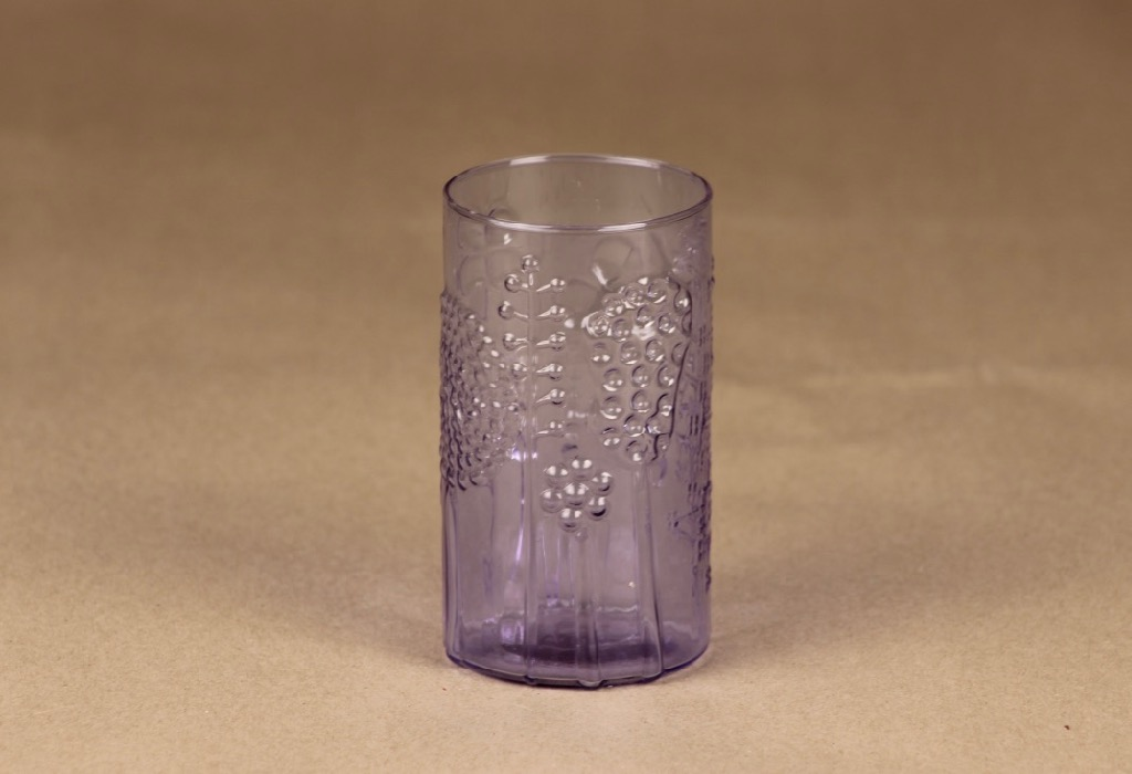 Nuutajärvi Flora glass, 20 cl designer Oiva Toikka