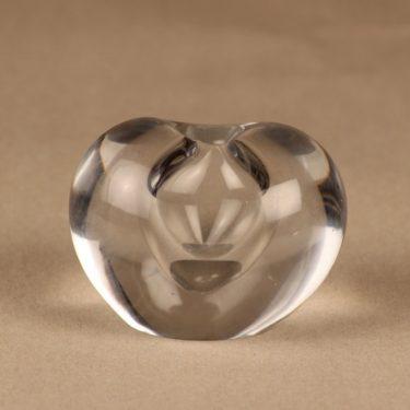 Iittala Sydän (Heart) art glass designer Timo Sarpaneva