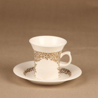 Arabia Lehto kahvikuppi, suunnittelija , kukka, oksa