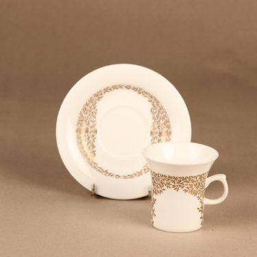 Arabia Lehto kahvikuppi, suunnittelija , kukka, oksa kuva 2