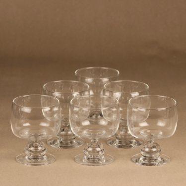 Iittala Mimi glass 6 pcs designer Heikki Orvola