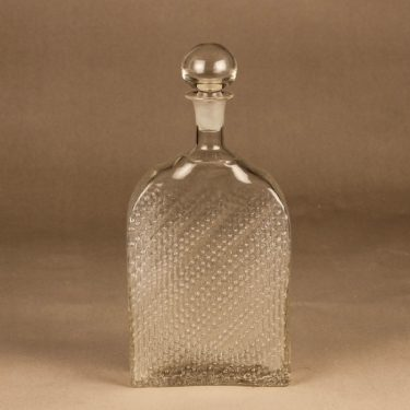 Riihimäen lasi Flindari carafe designer Nanny Still