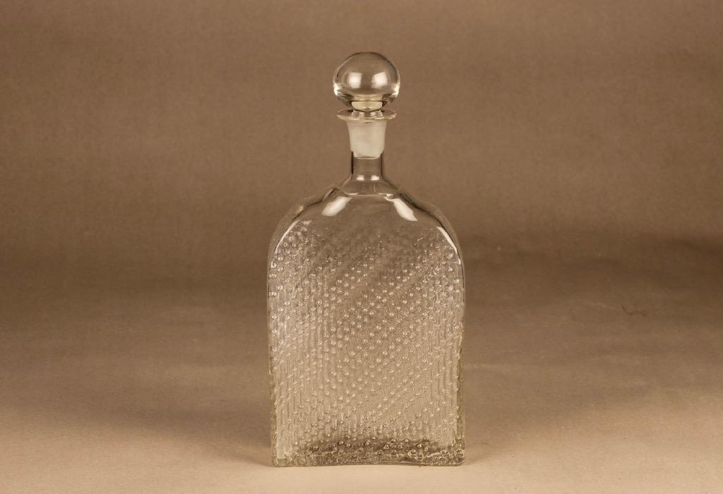 Riihimäen lasi Flindari karahvi, 100 cl, suunnittelija Nanny Still, 100 cl