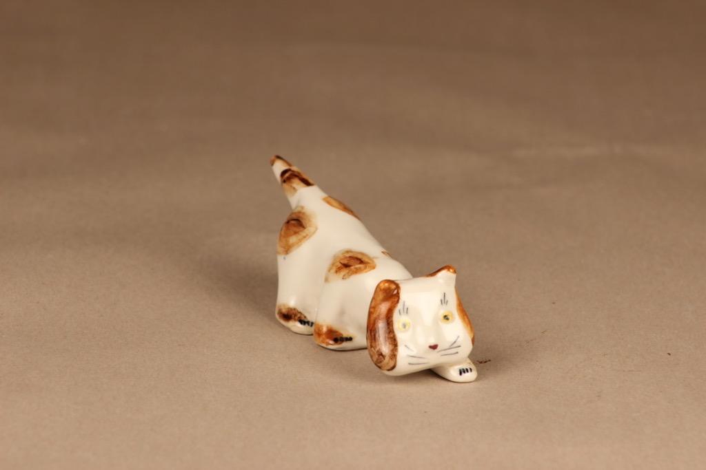 Arabia figurine cat designer Michael Schilkin