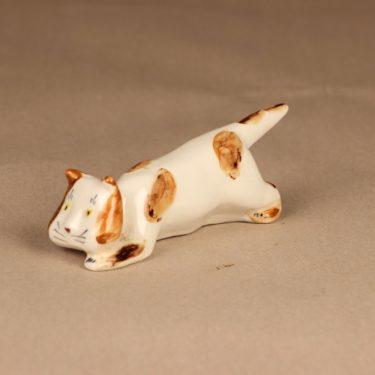 Arabia figuuri kissa, käsinmaalattu, suunnittelija Michael Schilkin, käsinmaalattu kuva 2