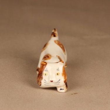Arabia figuuri kissa, käsinmaalattu, suunnittelija Michael Schilkin, käsinmaalattu kuva 3