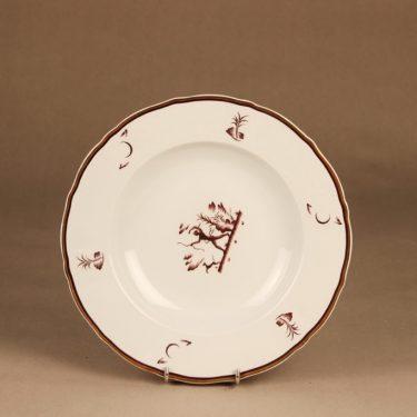 Arabia Diana syvä lautanen suunnittelija Einar Forseth