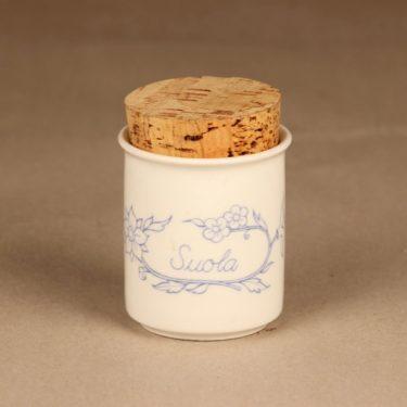 Arabia Sininen keittiö spice jar Salt
