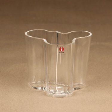 Iittala Aalto Collection vase, clear designer Alvar Aalto