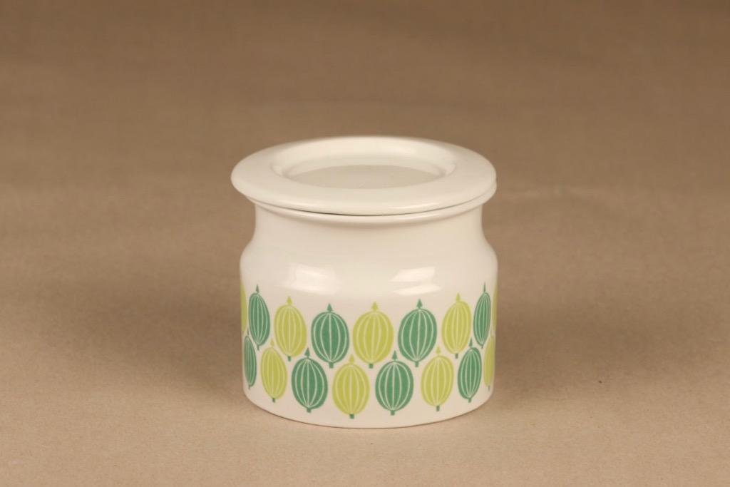 Arabia Pomona Gooseberry jar designer Raija Uosikkinen