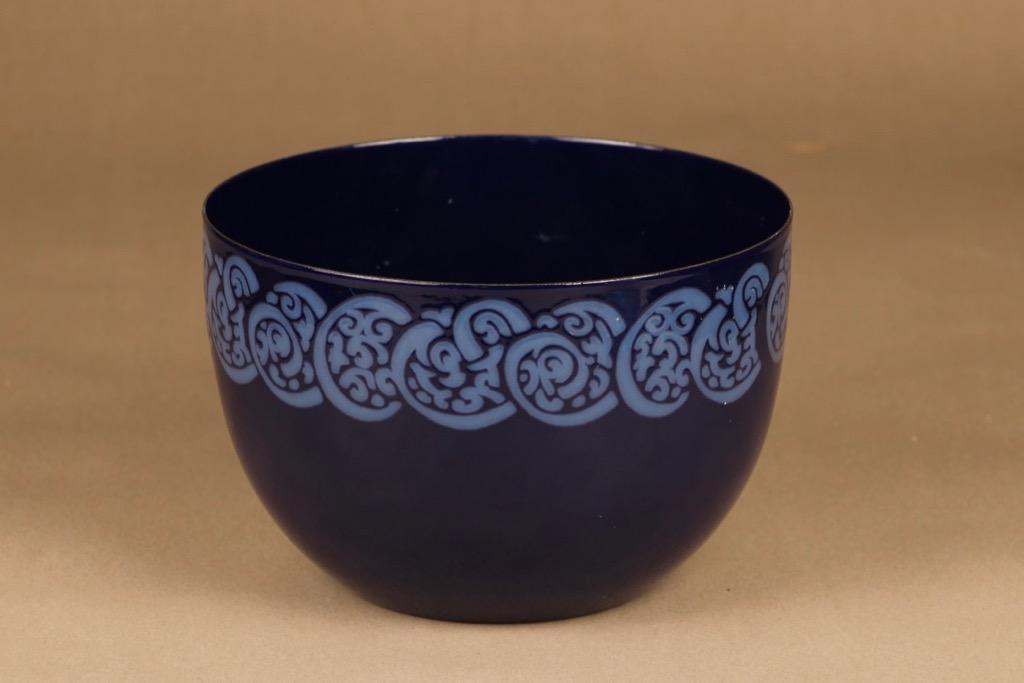 Arabia 4821 kulho, 3 l, suunnittelija Anita Wangel, 3 l, ornamentti