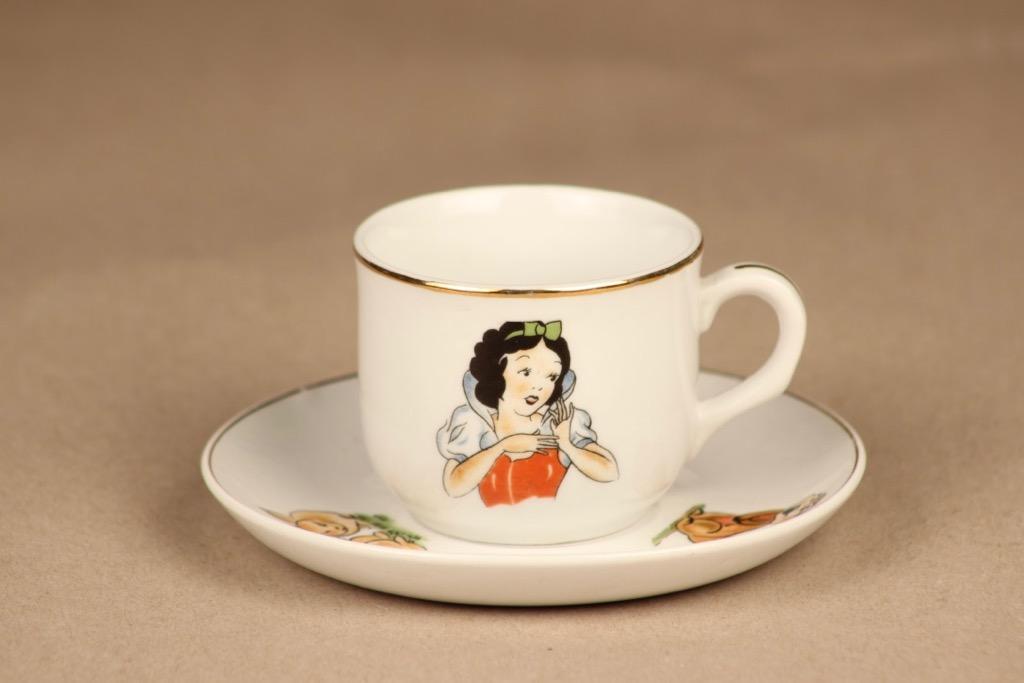 Arabia Lumikki kahvikuppi, lasten, suunnittelija , lasten, serikuva