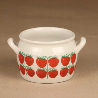 Arabia Pomona strawberry bowl designer Raija Uosikkinen