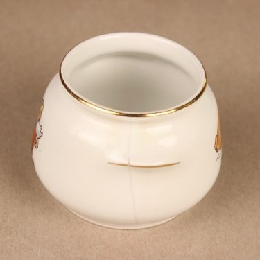 Arabia Lumikki children's sugar bowl and creamer 3