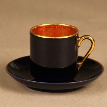 Arabia OC mocca cup, cobalt blue