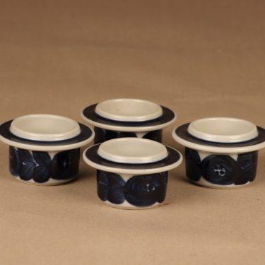 Arabia Anemone egg cup 4 pcs, hand-painted designer Ulla Procope