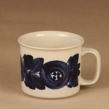 Arabia Anemone cacao mug, hand-painted designer Ulla Procope