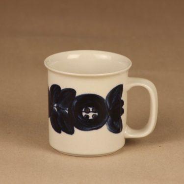 Arabia Anemone mug, hand-painted designer Ulla Procope