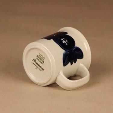 Arabia Anemone muki, käsinmaalattu, suunnittelija Ulla Procope, käsinmaalattu, signeerattu kuva 2