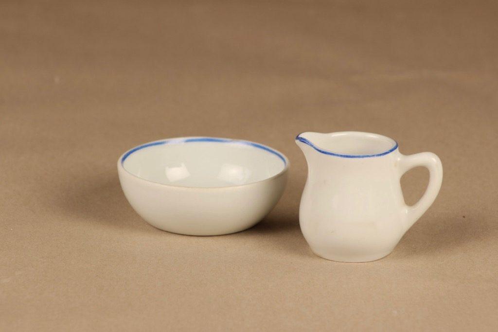 Arabia G2 sokerikko ja kermakko, pieni, suunnittelija , pieni