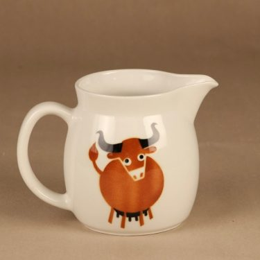 Arabia Heluna kaadin, 1 l, suunnittelija Anja Juurikkala, 1 l, lehmä, puhalluskoriste kuva 2