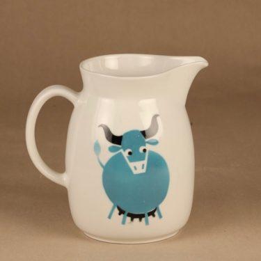 Arabia Heluna kaadin, 2 l, suunnittelija Anja Juurikkala, 2 l, lehmä, puhalluskoriste kuva 2