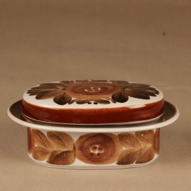 Arabia Rosmarin butter jar designer Raija Uosikkinen