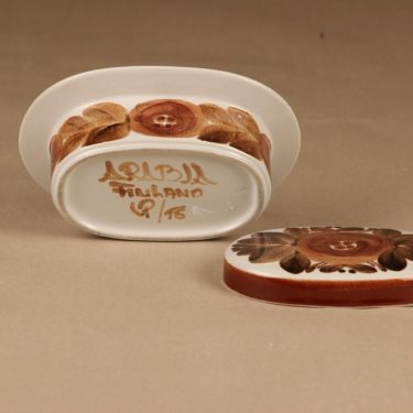 Arabia Rosmarin butter jar designer Raija Uosikkinen 3
