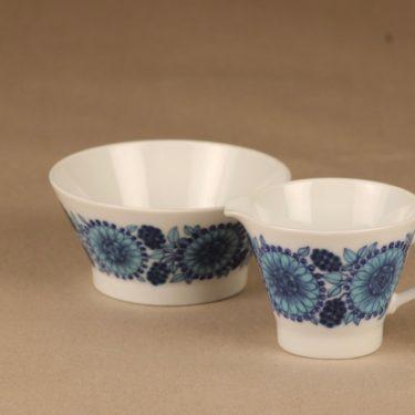 Arabia Johanna sugar bowl and creamer designer Raija Uosikkinen