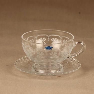 Nuutajärvi Apila tea cup, clear
