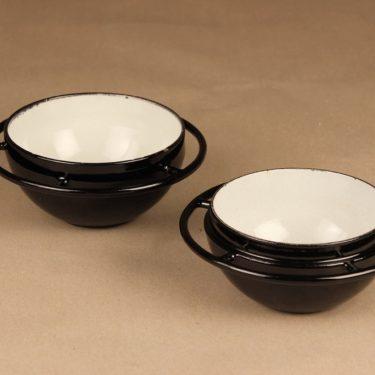 Rosenlew Saturnus casserole, black designer Timo Sarpaneva 2