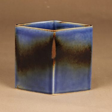Arabia vase blue-brown