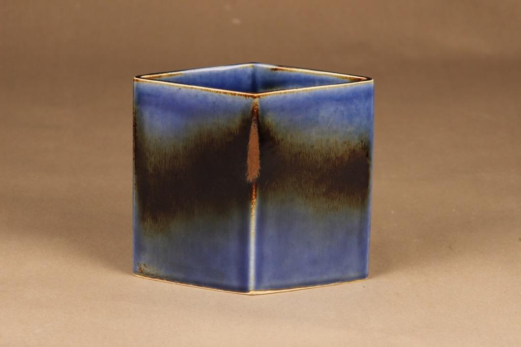 Arabia vase blue-brown