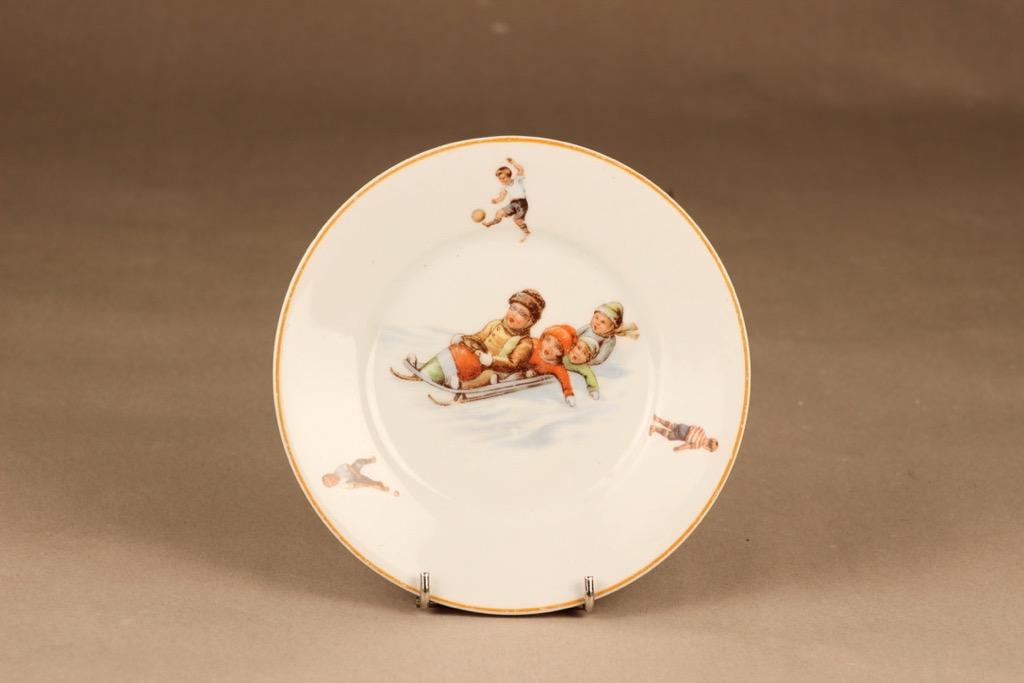 Arabia child plate sport decorative
