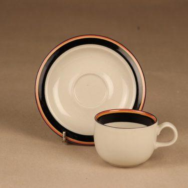Arabia Reimari kahvikuppi, raitakoriste, suunnittelija Inkeri Leivo, raitakoriste kuva 2