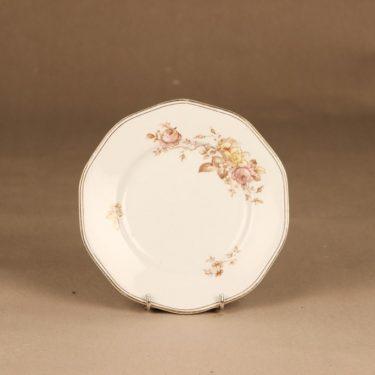 Arabia lautanen, pieni, 3 kpl, suunnittelija , pieni, kukka, jugend